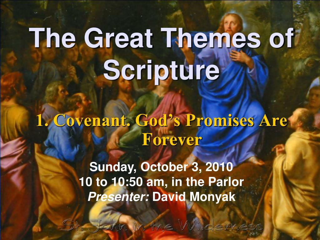 the great themes of scripture l.