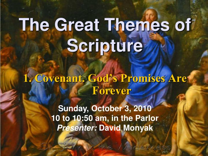 the great themes of scripture n.