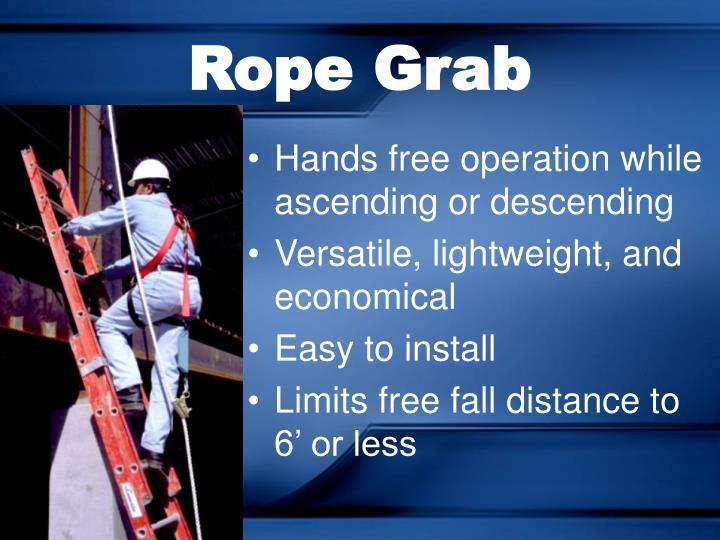 Rope Grab