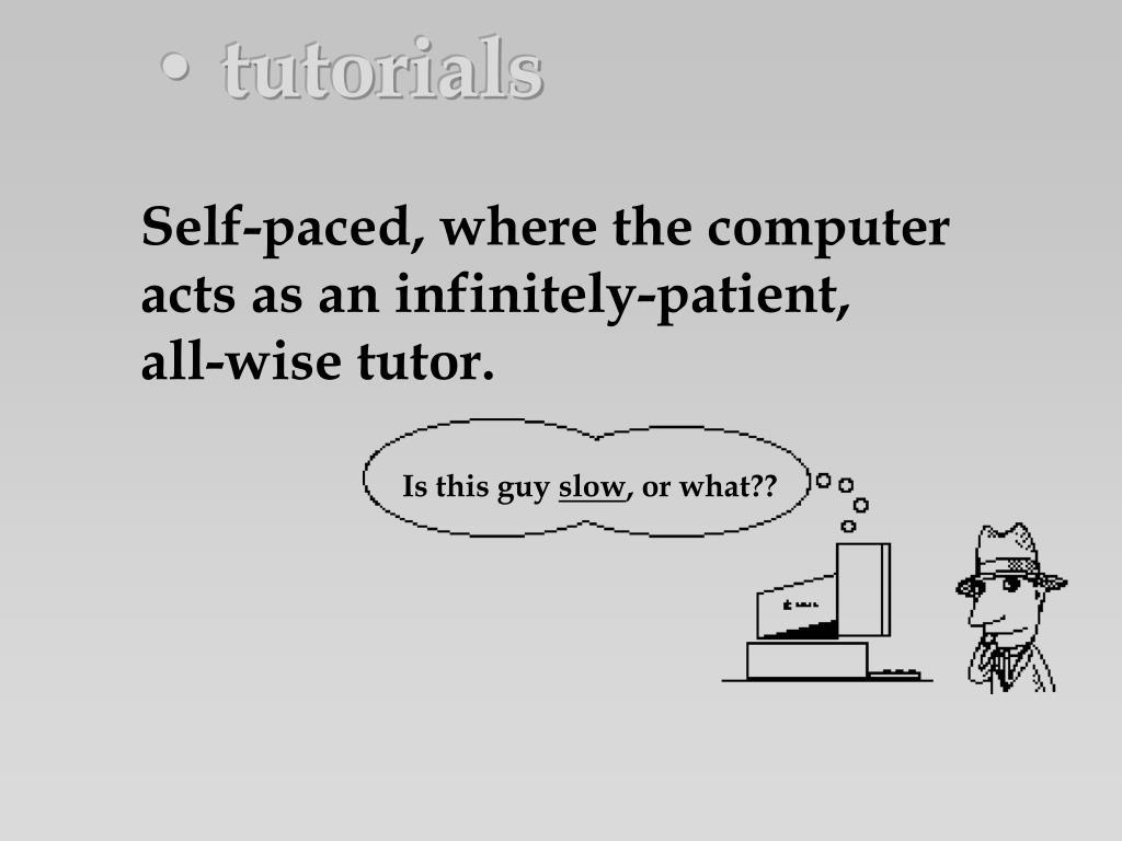 • tutorials
