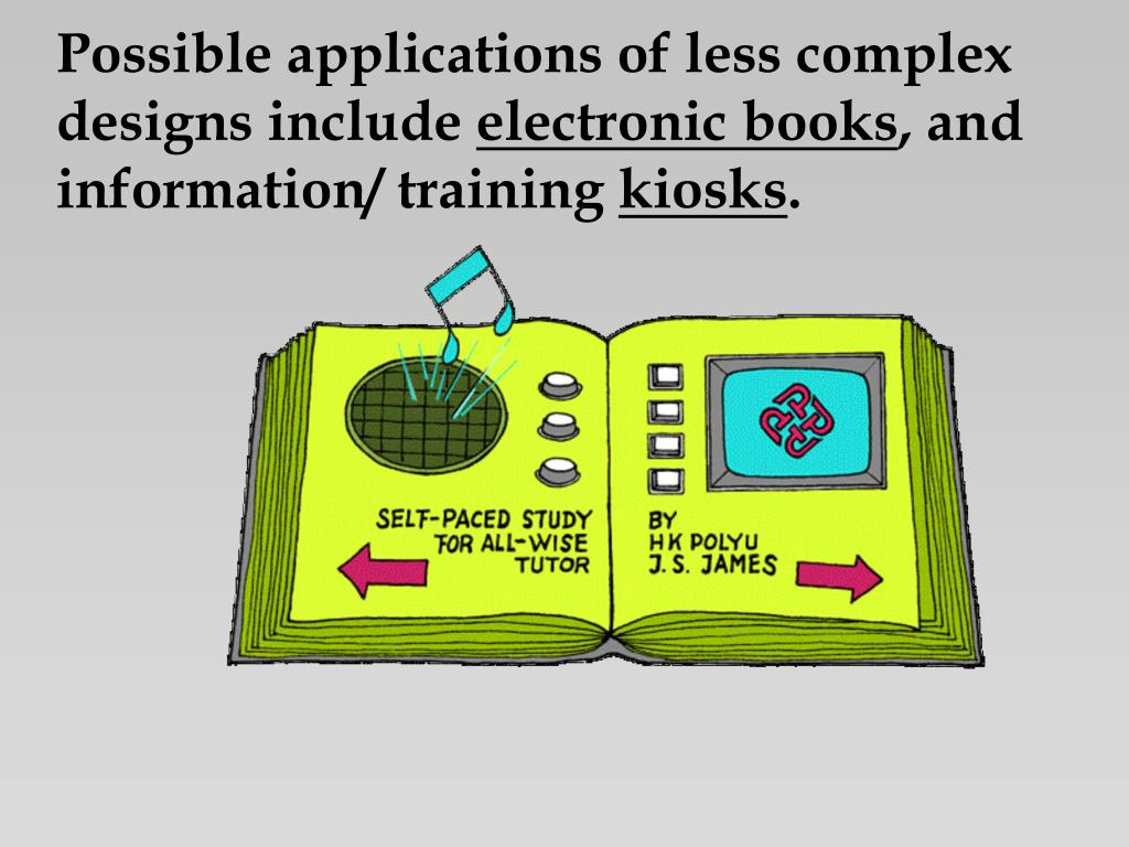 Possible applications of less complex