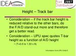 height track bar23