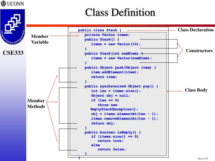 public class Stack {
