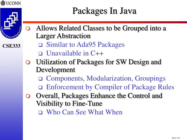 Packages In Java