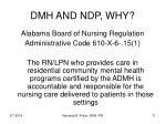 dmh and ndp why11