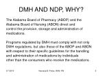 dmh and ndp why6