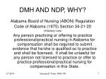 dmh and ndp why7