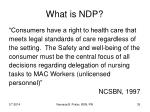 what is ndp35