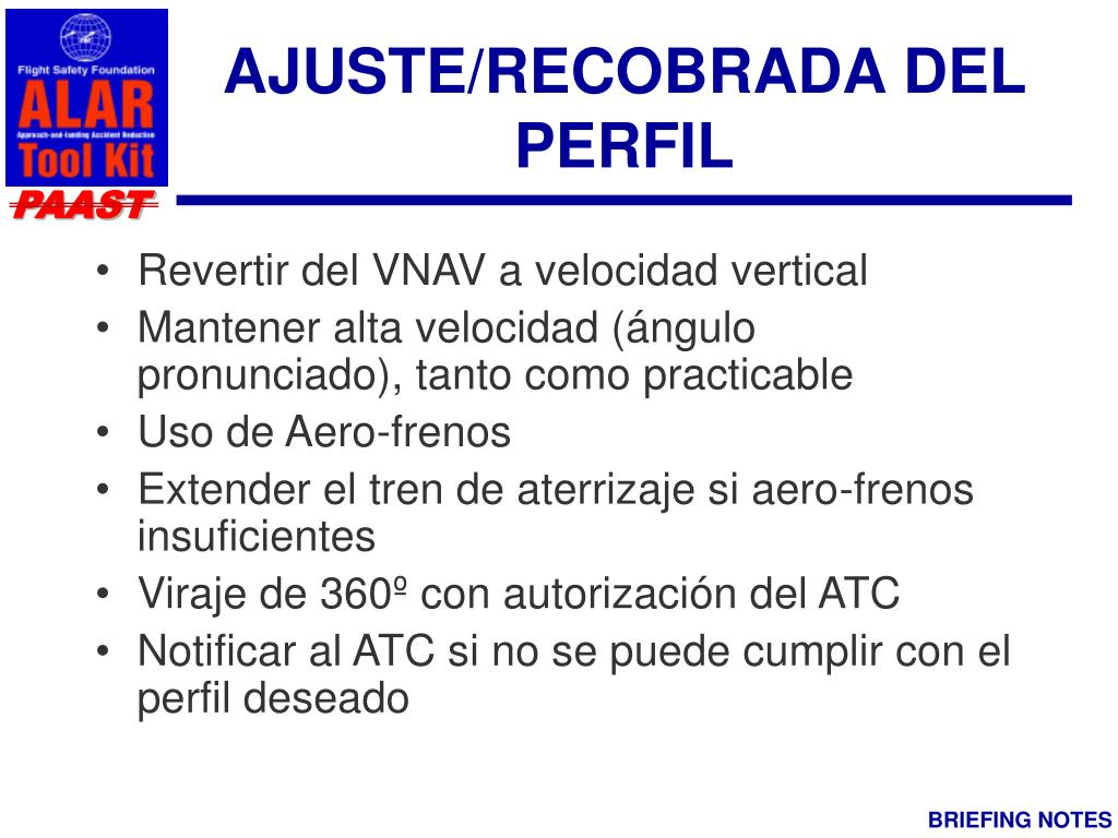 AJUSTE/RECOBRADA DEL PERFIL
