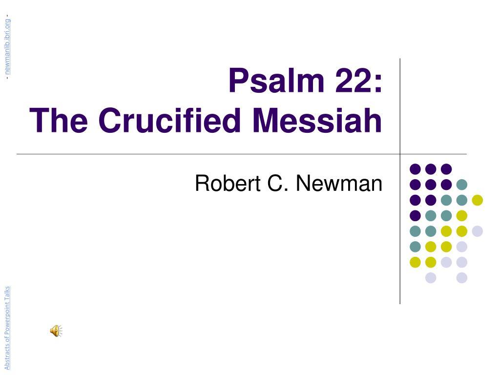 messiah in psalm 22