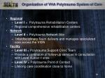 organization of vha polytrauma system of care