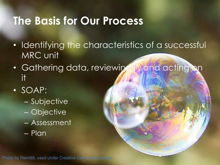 The Basis for Our Process