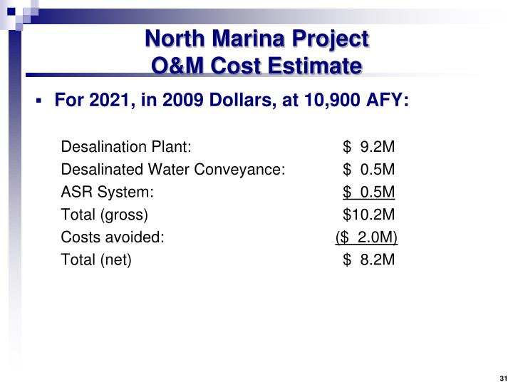 North Marina Project