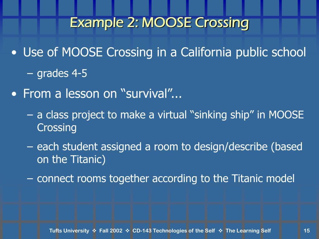 Example 2: MOOSE Crossing
