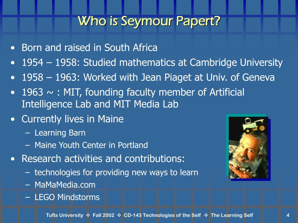 Who is Seymour Papert?