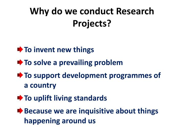 how to conduct a research project A project plan, also known as a project management plan is a document that contains a project scope and objective conduct extensive research step three.