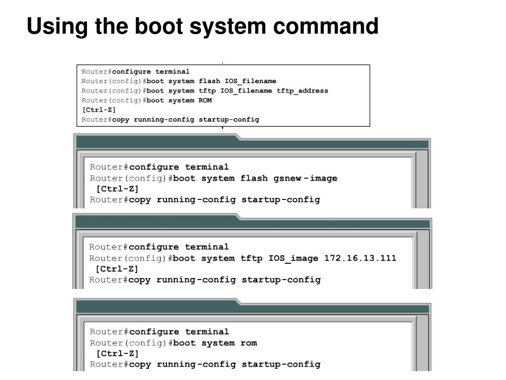 PPT - Ch  14 – Managing Cisco IOS Software PowerPoint