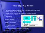 the analog rgb monitor7