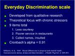 everyday discrimination scale