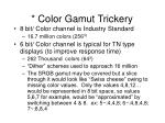 color gamut trickery