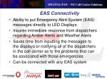eas connectivity