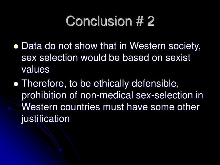 Conclusion # 2