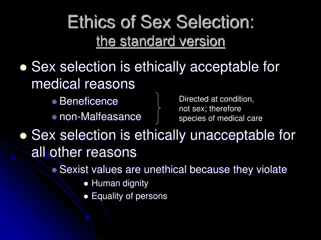 Sexual difference as a question of ethics