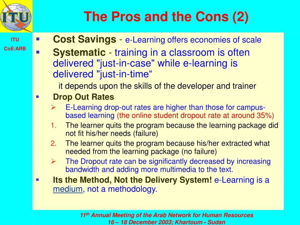 The Pros and the Cons (2)