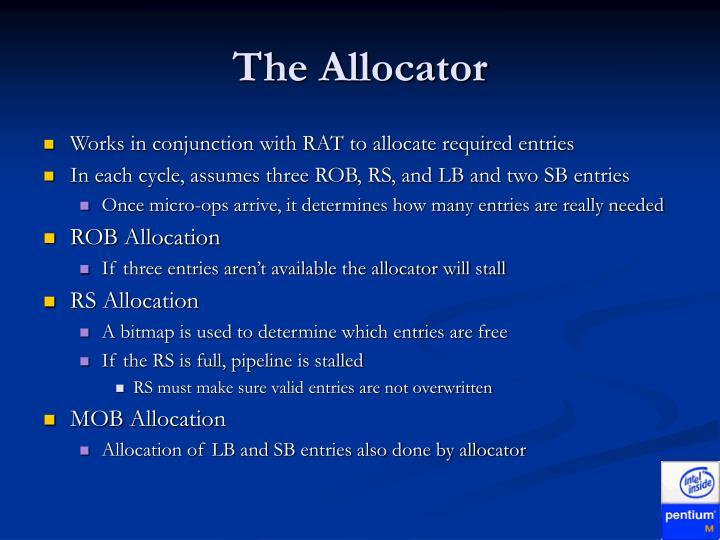 The Allocator