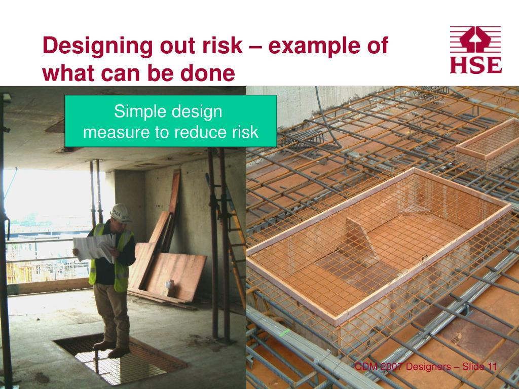 Designing out risk – example of what can be done