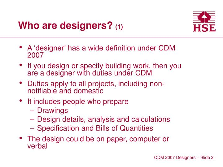 Who are designers 1