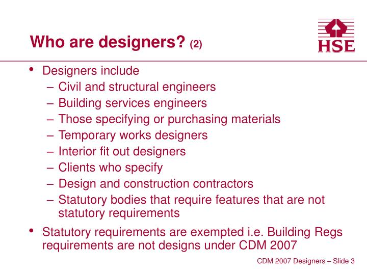 Who are designers 2