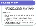 foundation tier8