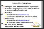 interactive narratives1
