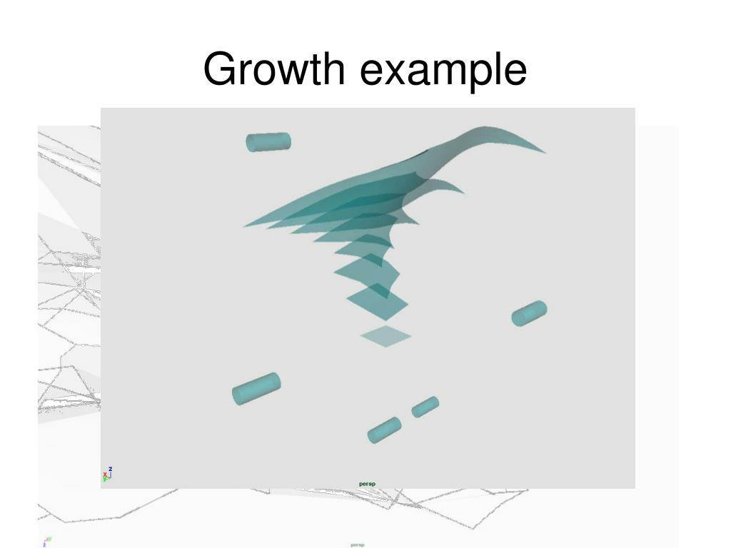Growth example