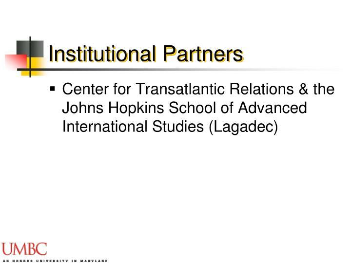 Institutional Partners