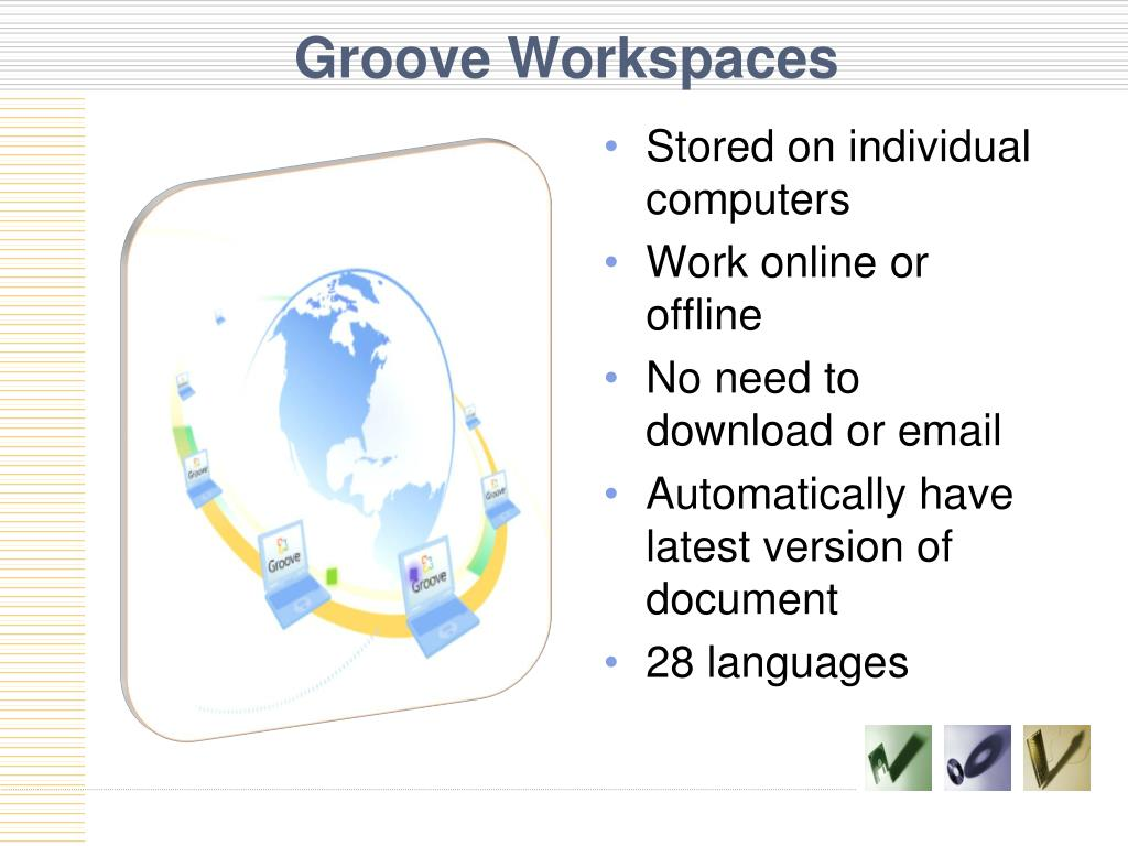 Groove Workspaces
