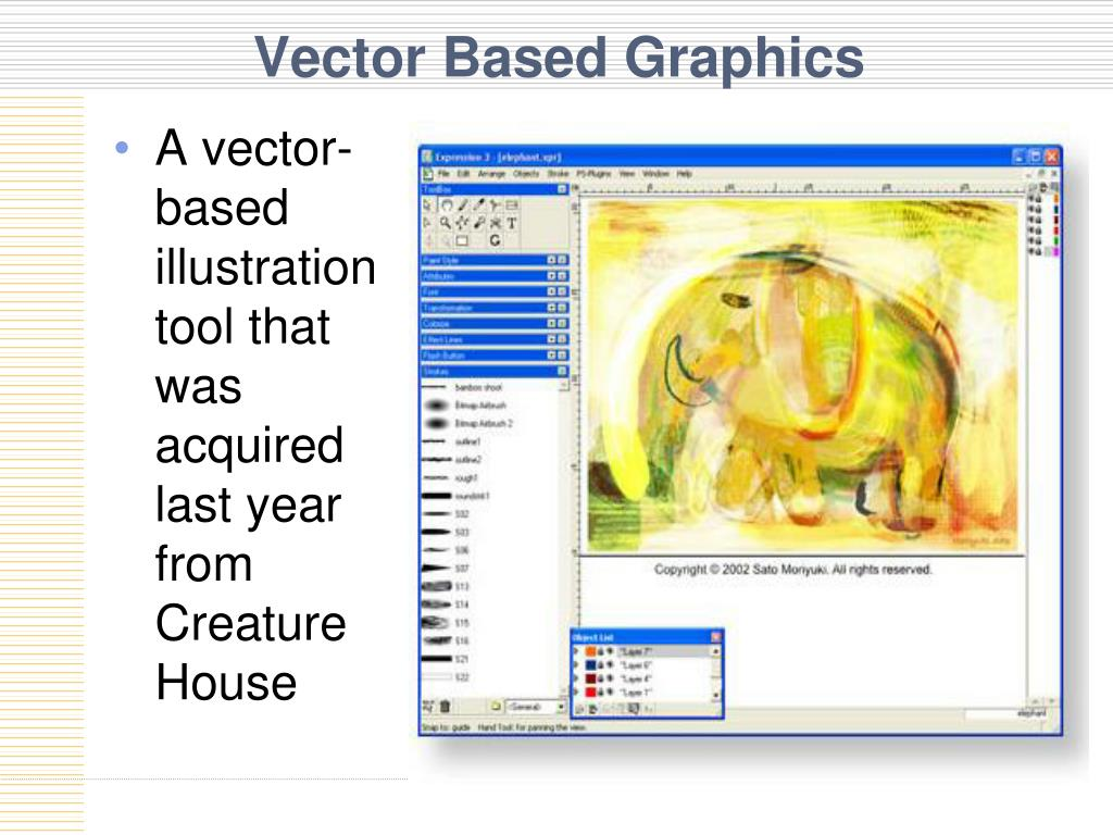 Vector Based Graphics