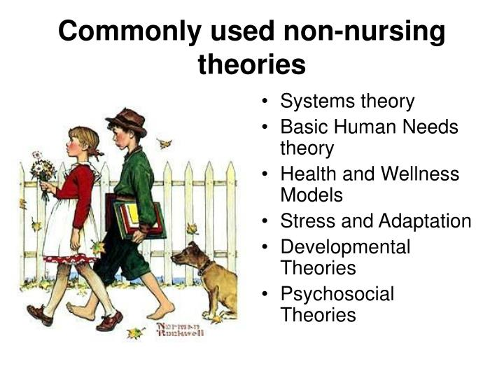 Commonly used non-nursing theories