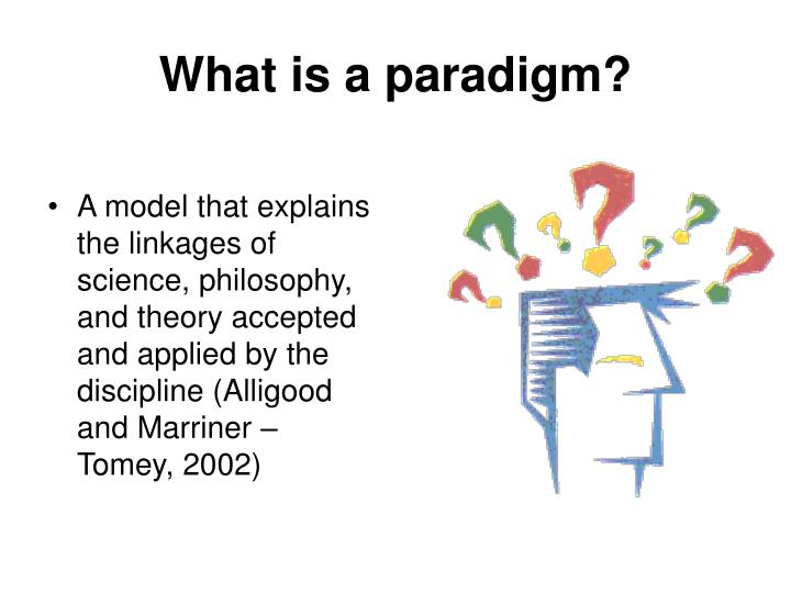 What is a paradigm?