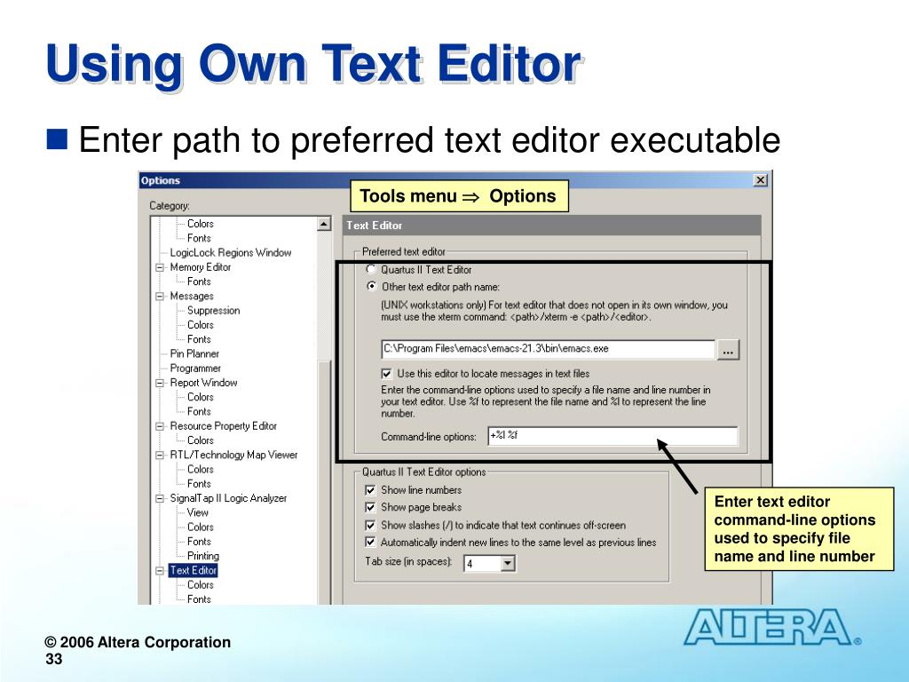 PPT - Designing with the Quartus II Software PowerPoint
