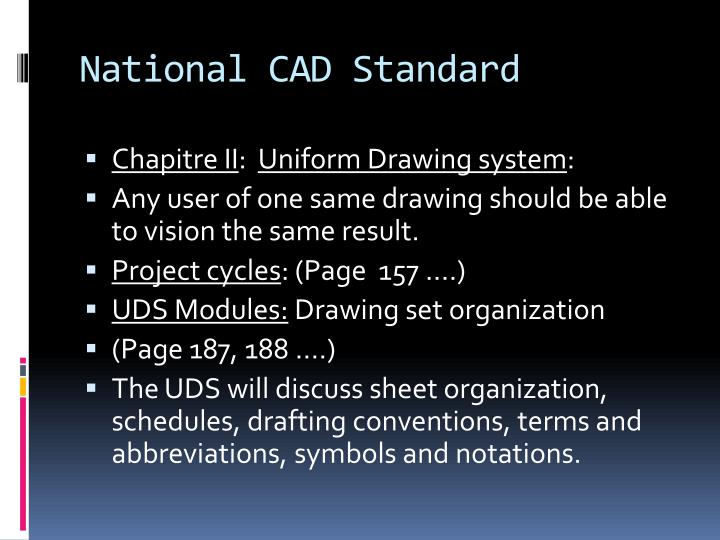 Ppt National Cad Standard Powerpoint Presentation Id 250890