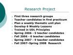 research project21
