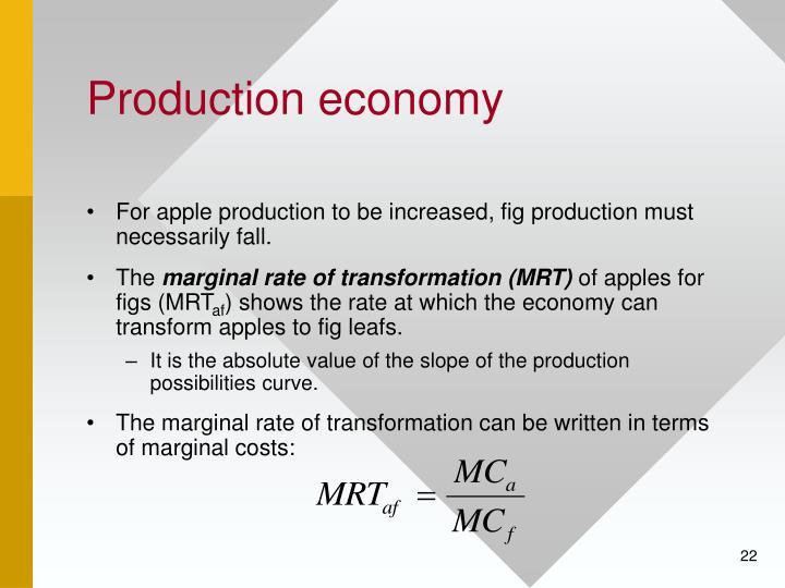 Production economy