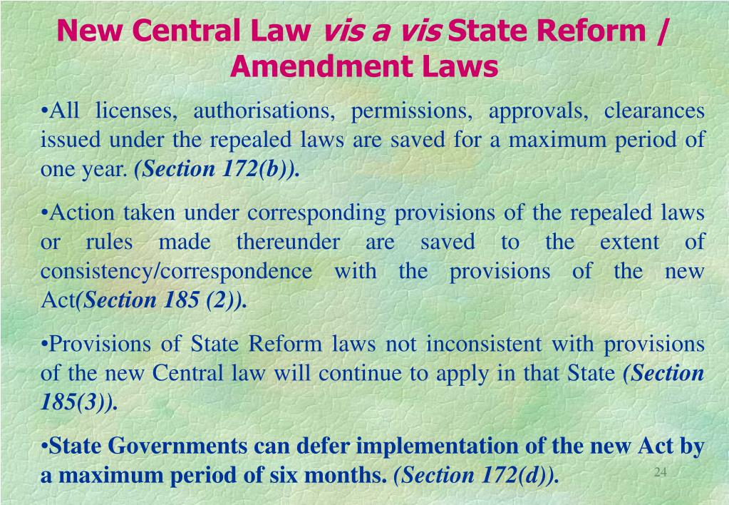 New Central Law