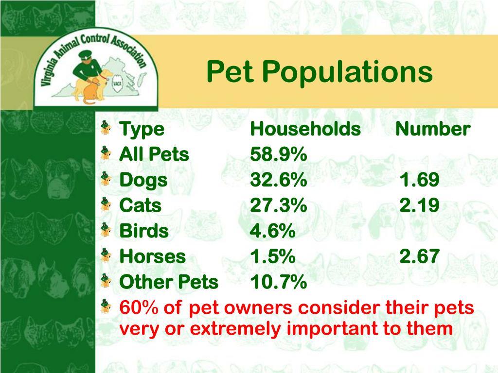 Pet Populations