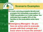 scenario examples
