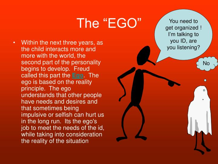"The ""EGO"""