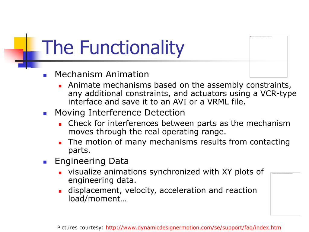 The Functionality