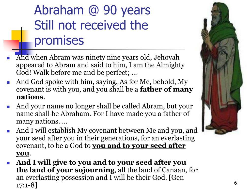 Abraham @ 90 years